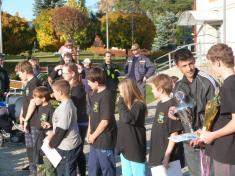 SDH - podzimní soutěž Plamen + výroční schůze