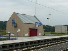 Rekonstrukce nádraží rok 2010