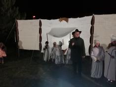 Rozsvícení vánočního stromečku,divadlo 2019