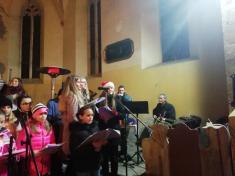 Zkoušky na Vánoční zpívání,koncert 23.12.2019 v 18:00 hodin